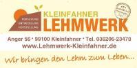 Logo: LEHMWERK Kleinfahner