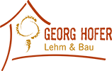 Logo: Georg Hofer Lehmbau